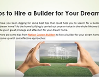 Hire A Builder for Your Dream Home