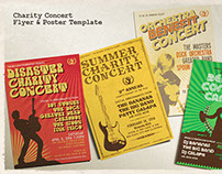 Charity Concert Flyer & Poster Template