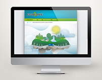 Web banner illustrations - Ecocave