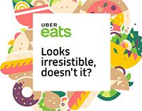 UBER Eats - 2017 Paid Media Re-Branding