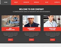 Sky Wrappers web design