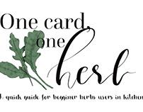 One Card, One Herb