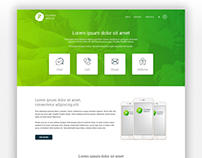 Free multi purpose website template PSD
