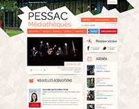 Médiathèque de Pessac - 2014