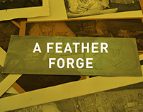 A Feather Forge I Etching