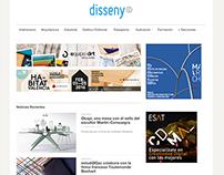 Entrevistas en la revista de diseño: Dissenycv.es