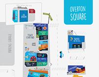 Overton Square Map