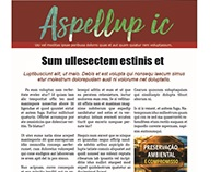 Diagramação - Exemplo Newsletter 01