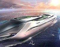Concept cruise ship