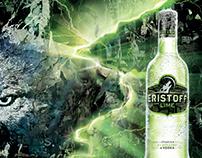 POS material Eristoff