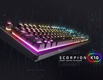 GX Gaming - K10 Smart Keyboard