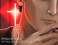 Fan Art / Constantine by Keanu Reeves/ Illustration
