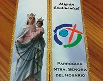 Tríptico Parroquia Ntra. Sra. del Rosario - Maipú