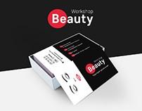 """Фирменный стиль для """"Beauty Workshop"""""""