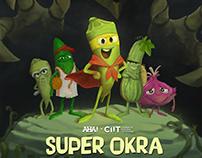 Storyboard - AHA! Super Okra