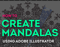 Tutorial: How to create mandalas on Adobe Illustrator
