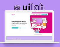Landing Page UI Lab