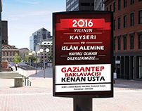 Gaziantep Baklavacısı Kenan Usta (Kayseri)