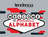 Ilustración ciudad Alphabet