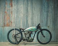 1920's Harley-Davidson Board Track Racing Bike