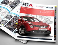 RTA - Logo and cover design