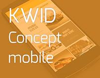 KWID - Renault mobile app