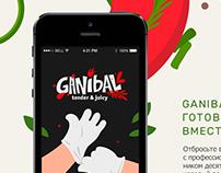 Ganibal - app concept  for Russian Design Cup