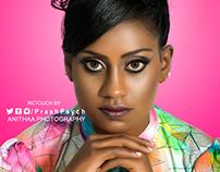 Portrait beauty retouch
