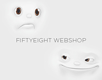 FIFTYEIGHT - webshop