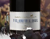 Y EL ASNO VIÓ AL ÁNGEL / Packaging