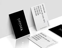 Tiptoe& Brand Identity