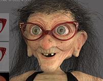 Granny 3D Character