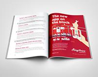 King Price Insurance, Art Direction & Copywriting Print