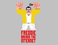 Freddie breaks