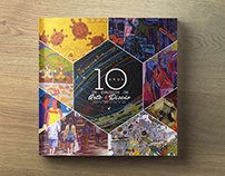 Book: 10 Años de Arte & Diseño. (Chile y Brasil)