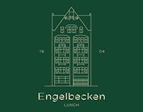 Engelbecken Lunch / Naming, logo, poster for restaurant
