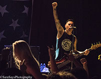 Anti-Flag DFYG 20 Year Tour HoB, San Deigo 2.21.17