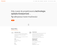 NOXIA 2018 Web Site