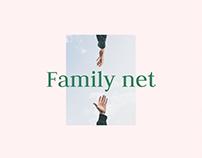 Family.net - Landing page & Platform