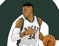 The Greek Freak - Giannis Antetokounmpo