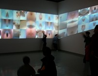 """Techno-scientific Art Age"" Video Installation NYArts"