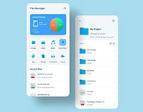 File Manager App Design