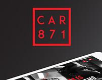 CAR 871 WEBSITE UX UI Y SISTEMA
