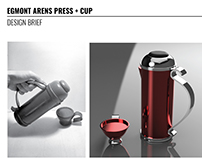 Egmont Arens Coffee Press and Cup Design