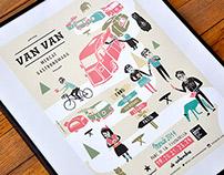 Posters Van Van Market 2014.