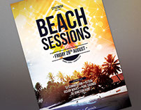 Beach Sessions Flyer