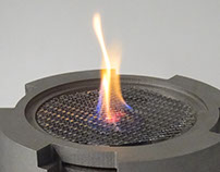Ventless Fire-feature