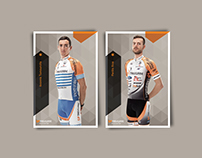 SP Tableware * Cycling Team * Poster * Autograph
