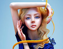 Doll Photo Manipulation