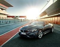 BMW M4 Motorsport CGI Campaign 2015 - Shot 4